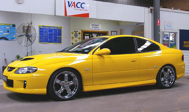 VZ Monaro Super Low Front & Rear